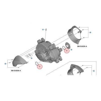 Entretoise d'Axe Shimano Steps E8000