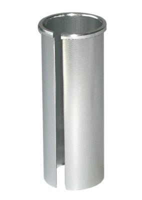 Douille de tige de selle diam. 27,2 mm vers 30,2 L. 80 mm