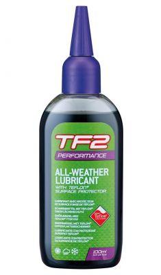 Lubrifiant chaîne Weldtite TF2 Performance All Weather Teflon 100 ml