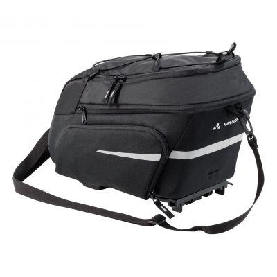 Sacoche porte-bagages Vaude Silkroad Plus fixation i-Rack 9+7 L Noir