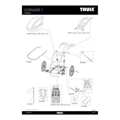 Harnais rembourré Thule - 40105232