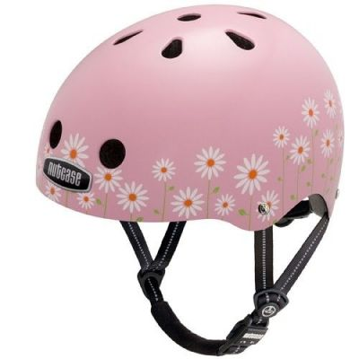 Casque Nutcase Street Daisy Pink