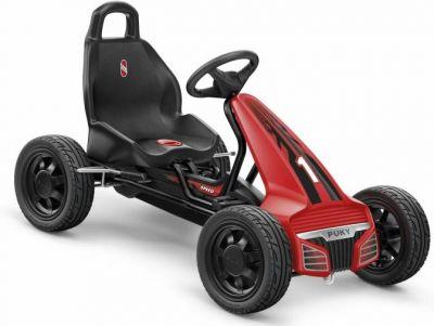 Kart Puky F550L 4 ans à pneus gonflables Noir/Rouge