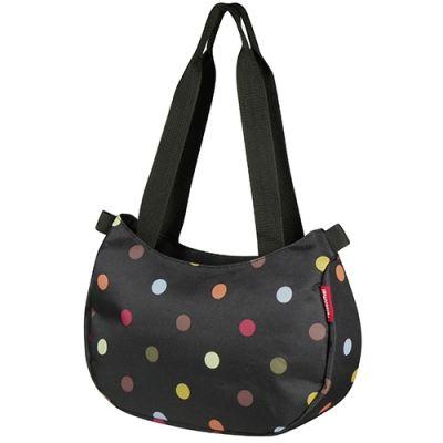 Sac à main KLICKfix Stylebag + support de guidon Pois