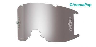 Écran pour masque Smith Fuel/Intake Solaire Platinium ChromaPop