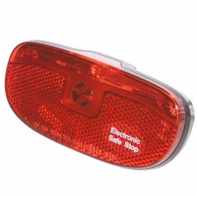 Éclairage AR Spanninga Duxo Xds Safe Stop Fix. porte-bagages 50/80 mm Dynamo Noir