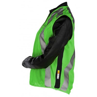 Gilet de sécurité ville L2S Urban Vert fluorescent