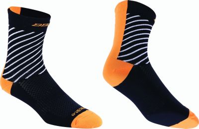 Chaussettes BBB ThermoFeet Noir/Orange - BSO-17