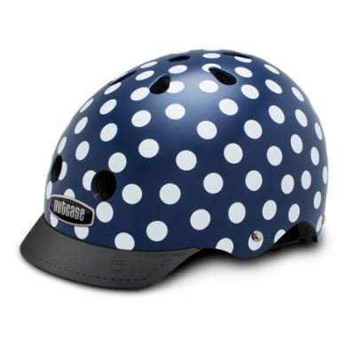 Casque Nutcase Street Navy Dots