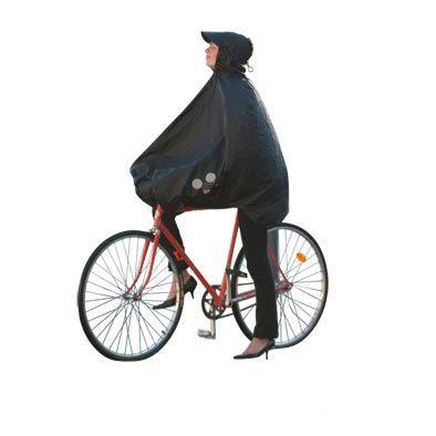 Poncho de protection pluie SPAD De Ville Fulap Noir