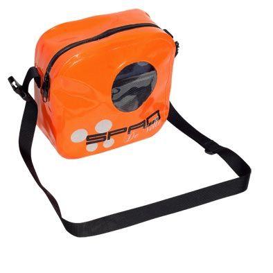 Sacoche de cintre Spad Besenvil étanche avec bandoulière Orange