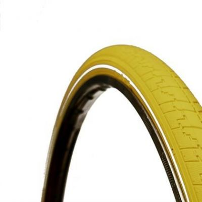 Pneu Dutch Perfect SRI 27 No Puncture 700 x 38C TR Jaune/Réfléchissant