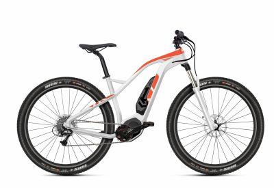 VTT électrique O2Feel Karma XT+ Blanc/Orange