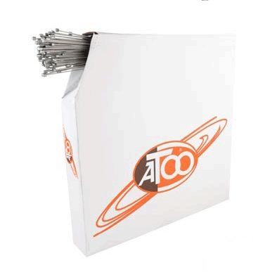 Câble de dérailleur ATOO Inox Type Shimano 2,00 m (Boîte de 100)