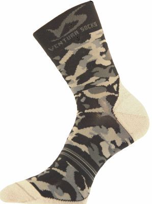 Chaussettes Ventura Socks Carbone Camouflage