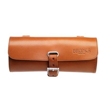 Sacoche de selle Brooks Challenge Trousse à outils Cuir 0,5 L - Miel