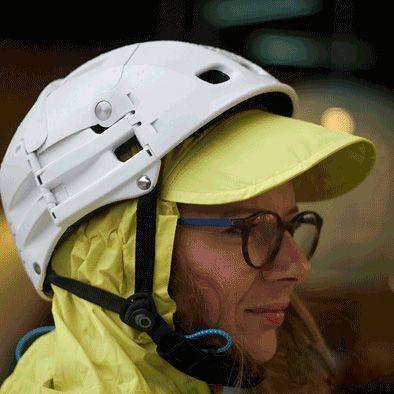 Poncho de protection pluie SPAD De Ville Fulap Jaune
