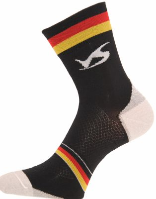 Chaussettes Ventura Socks Carbone Nation Allemagne Noir