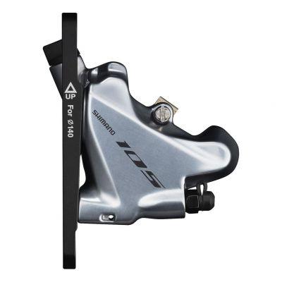 Manette et Étrier Avant Disc Shimano 105 ST-R7020 Gris