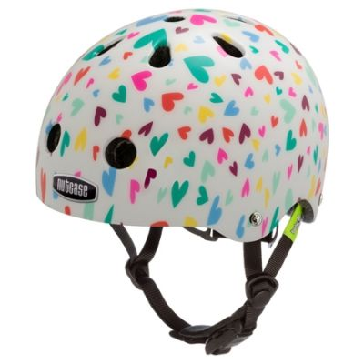 Casque bébé Nutcase Baby Nutty Happy Hearts