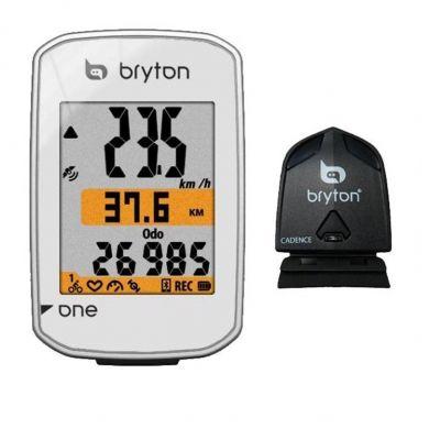 GPS Bryton Rider One C Blanc