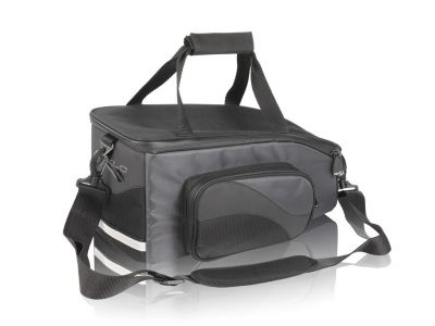 Sacoche porte-bagages 15L Carry More XLC BA-S47 Noir / Anthracite
