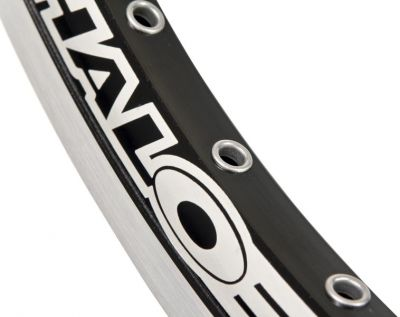 "Cercle 20"" Halo Ex-3 32 rayons noir CNC"