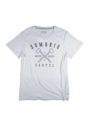 Tee-shirt Sombrio Axes Tee Blanc