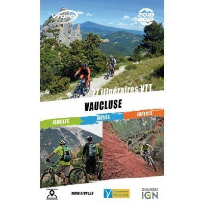 VTOPO guide VTT Vaucluse - Édition 2018