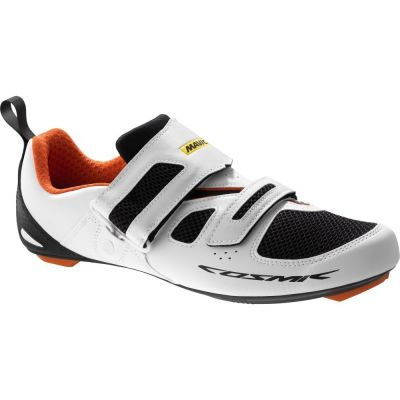 Chaussures triathlon Mavic Cosmic Elite Tri Blanc/Noir