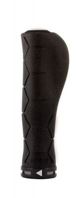 Poignées Fabric Ergo Silicone lock-on Grips Noir