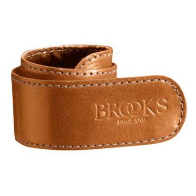 Serre-pantalon Brooks cuir Miel (à l'unité)