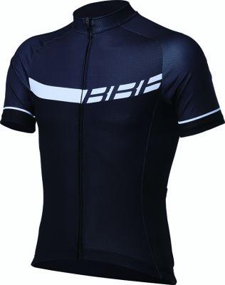 Maillot été BBB Keirin jersey Noir / Blanc - BBW-240