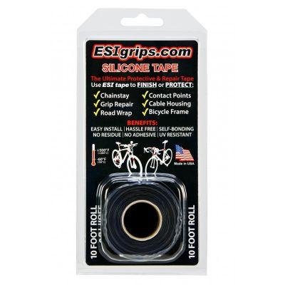 Protection de cadre multi-usage ESI Grips Bande silicone 3 m Noir