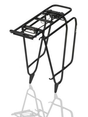 Porte-bagages XLC RP-R15 alu Fatbike Noir