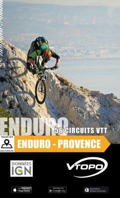 VTOPO guide VTT Enduro Provence