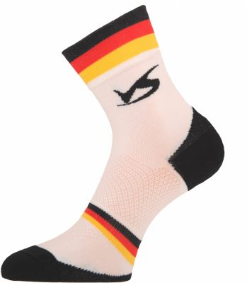 Chaussettes Ventura Socks Carbone Nation Allemagne Blanc