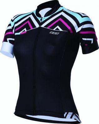 Maillot été Femme BBB Omnium Jersey Noir Design - BBW-244