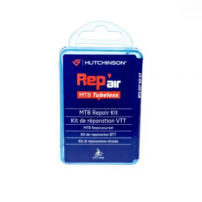 Kit de réparation Hutchinson Rep'air Tubeless VTT 4 x 25 mm + colle 3 g