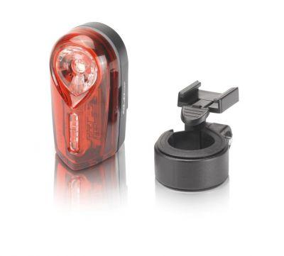 Éclairage arrière XLC Comp Neso CL-R15 À piles Rouge