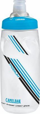 Bidon vélo CamelBak Podium 620 ml Transparent/Bleu