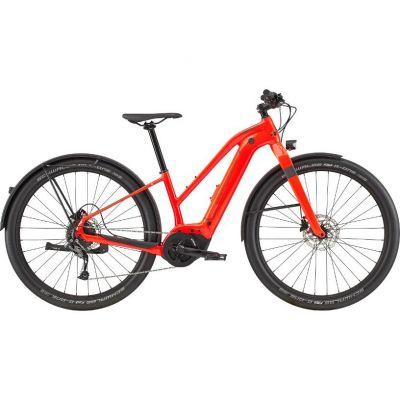 Vélo électrique femme Cannondale Canvas Neo Remixte 2 Rouge Acid 2020