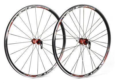 Roues XLC Pro 700C WS-R02 Shim. 9/10/11V (Paire) Noir