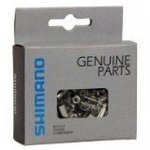 Boîte de 200 embouts de gaine de frein Shimano 6 mm