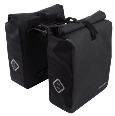 Sacoche double système Atranvelo Travel AVS 24,5 L Noir