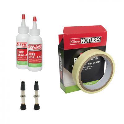 Kit de conversion tubeless Stan's NoTubes 21 mm Valves 35 mm