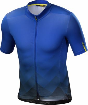 Maillot Mavic Cosmic Graphic MC Bleu Prince