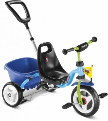 Tricycle Puky CAT 1S 2 ans Bleu/Kiwi