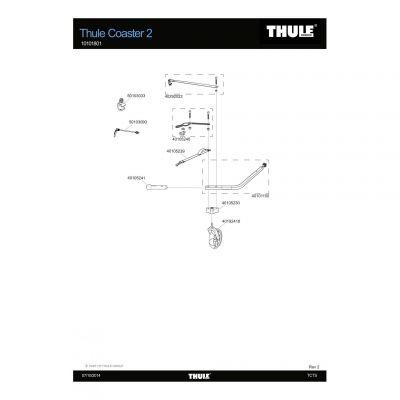Courroie de rechange Thule Coaster - 40292022