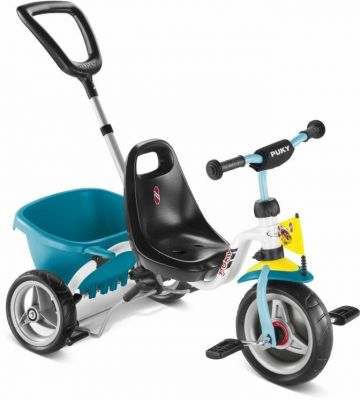 Tricycle Puky CAT 1S 2 ans Blanc/Menthe